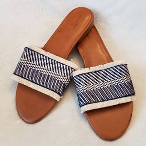Universal Thread | Woven Slide Sandals | NWT